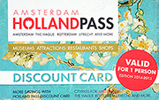 Amsterdam Holland Pass Card