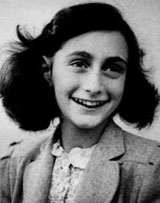 Anne Frank picture from Wikipedia