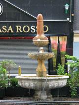 Casa Rosso Amsterdam penis fountain
