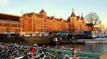 Amsterdam Central Station Building