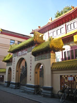 Amsterdam Chinese Budhist Temple Zeedijk