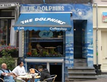 Coffeeshop Dolphins Entrance
