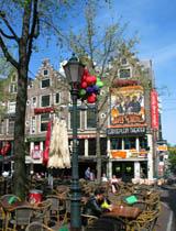 ... Leidseplein is the main entertainment place