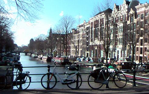 Keizersgracht Canal Beginning