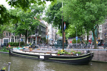 Houseboat on Prinsengracht