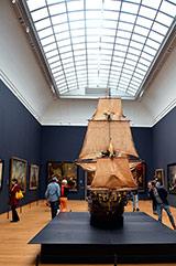 Interior of reconstructed Rijksmuseum