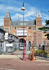 Rijksmuseum reconstruction in Amsterdam