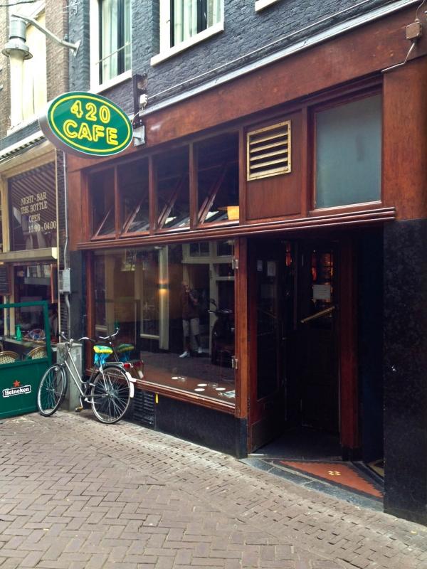 Cafe Coffee Shop Amsterdam