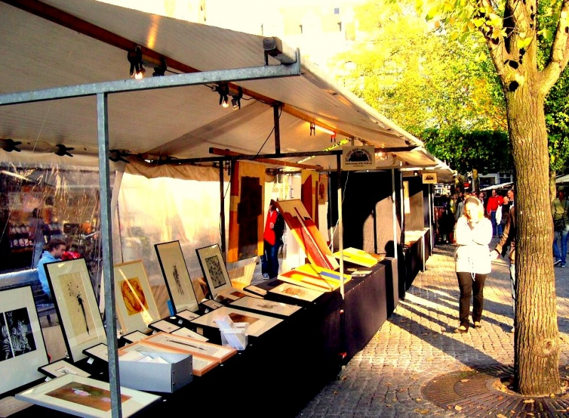 Art Plein Spui Market In Amsterdam Amsterdam Info