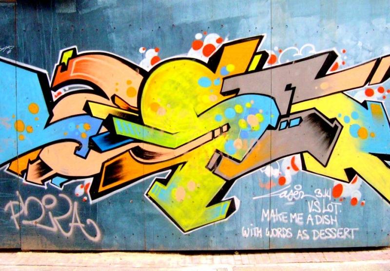 graffiti vandalism art essay