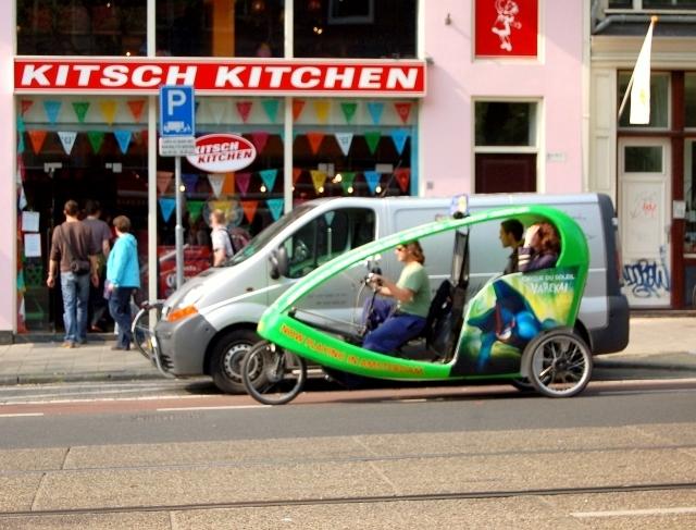 amsterdam bike taxi. Black Bedroom Furniture Sets. Home Design Ideas