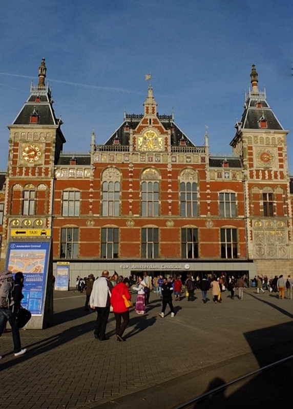 Amsterdam Central Station Centraal Station Amsterdaminfo