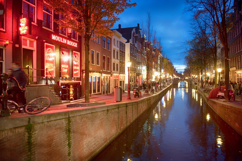 Image result for red light district amsterdam
