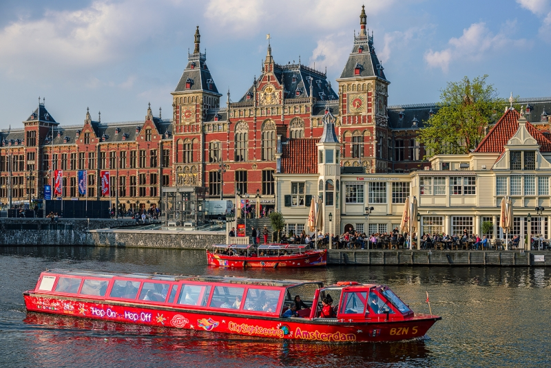 Hop On Hop Off Amsterdam Canal Cruise Amsterdam Info