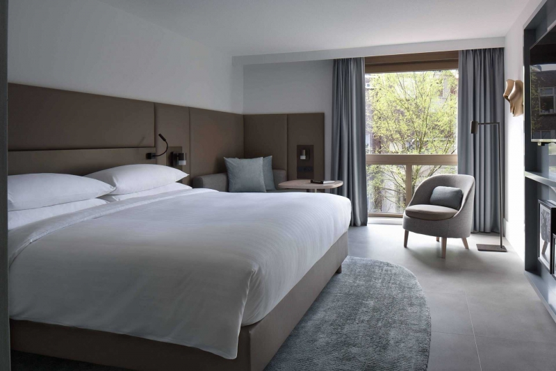 Guests Will Be Inspired At The New Toronto Marriott: Marriott Hotel Amsterdam