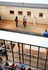 Van Gogh Museum Inside Van Gogh Museum in Amsterdam