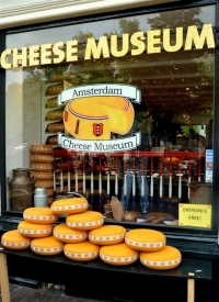 Cheese Museum Display