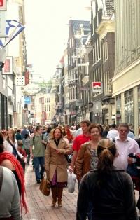Kalverstraat Street