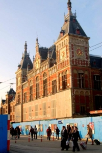 Amsterdam Central Station Location