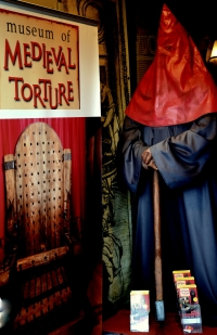 Medieval Torture Instruments Museum in Amsterdam