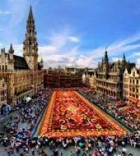 Bruxelles Sur La Carte