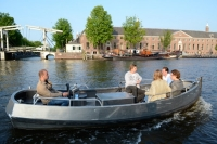 Amsterdam Rental Boat Self Operated Electric Motorboat