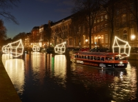 Amsterdam Light Festiival Canal Cruise