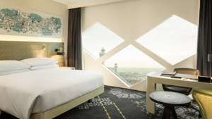 Amsterdam Hilton Hotel Airport Schiphol Room