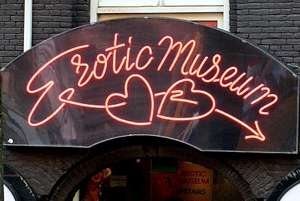 Sex Museum Neon Light Entrance