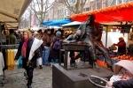 Lindengracht Market in Amsterdam