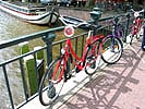 Pictures of Amsterdam bikes