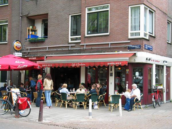 Caf de jordaan in amsterdam for B b amsterdam