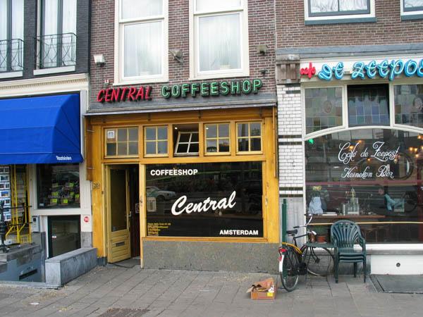 Central coffeeshop in amsterdam for B b amsterdam