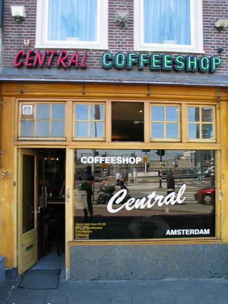 Amsterdam central coffeeshop for B b amsterdam
