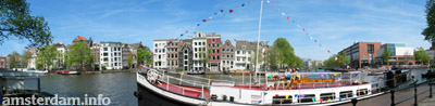 Amsterdam panorama picture