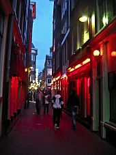 Amsterdam Red Light District Pictures Photos Street