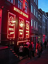 Amsterdam Red Light District Pictures Photos Moulin Rouge