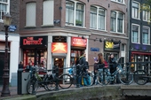 Amsterdam Red Light District Pictures Photos canal