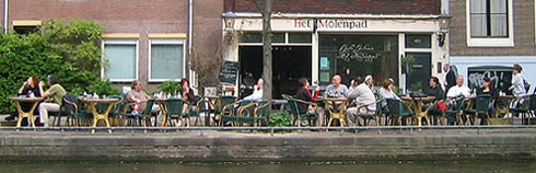 Cafe Molenpad Prinsengracht Amsterdam