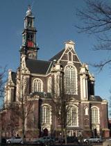 Amsterdam Western Church Prinsengracht