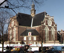 Northern Church Prinsengracht Amsterdam