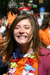 Amsterdam Queensday party