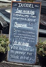 Restaurant Dubbel Amsterdam Prices