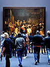 Nightwatch Rembrandt in Rijksmuseum Amsterdam