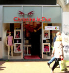 Christine le Duc sex shop Amsterdam