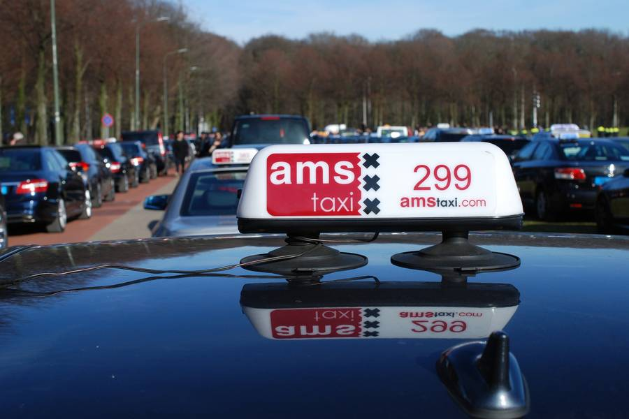 Amsterdamer Taxi-Service