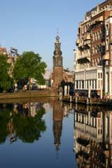 Munt tower Amsterdam