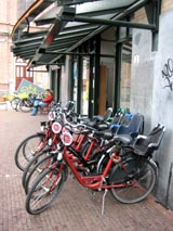 Mac bike rental Leidseplein