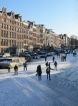 Frozen Channels Amsterdam
