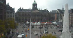 Amsterdam Dam Square web cam
